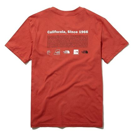 THE NORTH FACE More T-Shirts Unisex Street Style Outdoor T-Shirts 16
