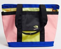 THE NORTH FACE Unisex Street Style 2WAY Plain Logo Totes
