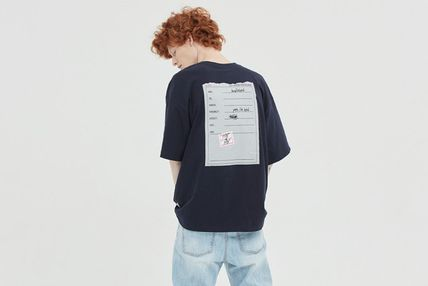 BADINBAD More T-Shirts Unisex Street Style Cotton Short Sleeves Oversized Logo 17