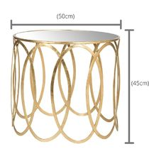 SAFAVIEH Gold Furniture Night Stands Table & Chair