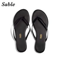 TKEES Rubber Sole Casual Style Street Style Plain Leather