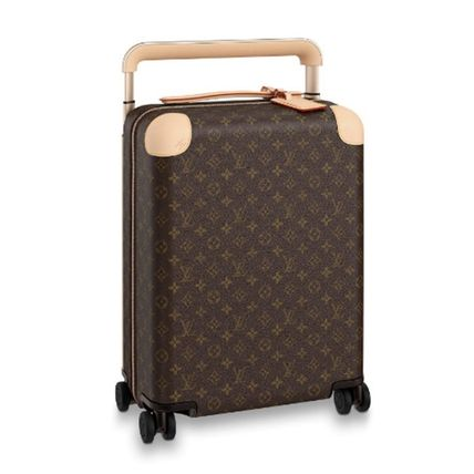 Louis Vuitton MONOGRAM Unisex Hard Type Carry-on Luggage & Travel Bags