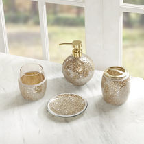MADISON PARK More Décor With Jewels Glitter Co-ord Metallic Décor 7