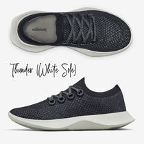 allbirds Runners Round Toe Casual Style Plain Logo Low-Top Sneakers