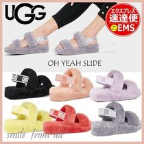 UGG Australia YEAH Casual Style Street Style Logo Strap Sandals Sandals Sandal