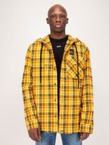 Off-White Short Other Plaid Patterns Street Style Jackets