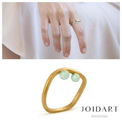 Costume Jewelry Casual Style Brass Office Style Rings