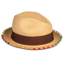 Paul Smith Unisex Blended Fabrics Street Style Straw Boaters Straw Hats