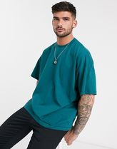 ASOS Crew Neck Street Style Plain Cotton Short Sleeves Oversized