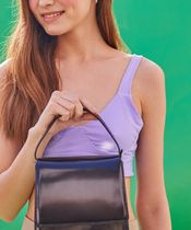 AVAM 2WAY Plain Leather Crossbody Shoulder Bags