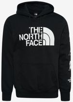THE NORTH FACE Street Style Long Sleeves Plain Logos on the Sleeves Logo