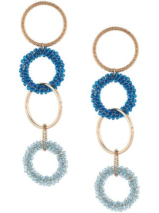Costume Jewelry Blended Fabrics Studded Chain Party Style