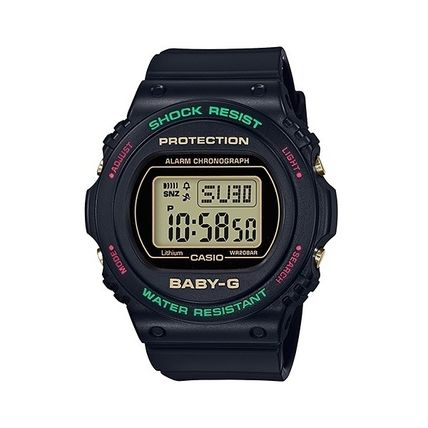 CASIO Casual Style Unisex Round Office Style Formal Style