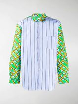 COMME des GARCONS Shirts Button-down Stripes Other Plaid Patterns Street Style 5