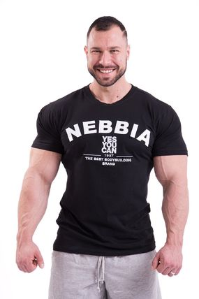 NEBBIA More T-Shirts Street Style U-Neck Cotton Short Sleeves Logo T-Shirts 2