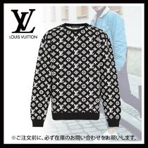 Louis Vuitton Full Monogram Jacquard Crewneck