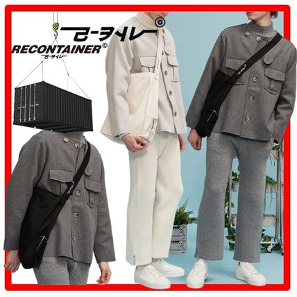 REPLAY CONTAINER Messenger & Shoulder Bags Unisex Street Style Messenger & Shoulder Bags