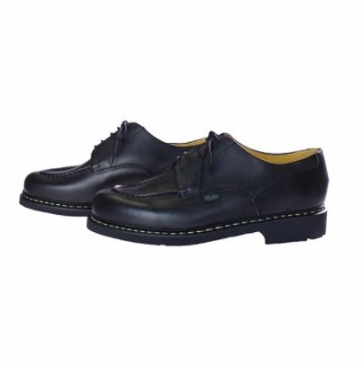 Plain Leather Logo Oxfords
