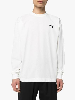 Y-3 Long Sleeve Crew Neck Street Style Long Sleeves Cotton 3