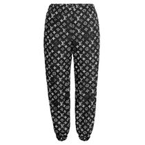Louis Vuitton MONOGRAM Stencil-Effect Monogram Jogging Pants