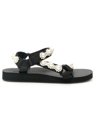Flower Patterns Casual Style Sport Sandals Flat Sandals