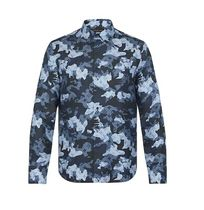 Louis Vuitton Camouflage Monogram Silk Long Sleeves Shirts