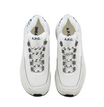 A.P.C. Casual Style Plain Leather Low-Top Sneakers