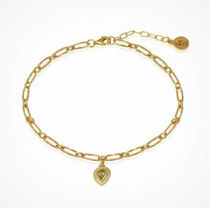 TEMPLE OF THE SUN Casual Style Unisex Chain Party Style 18K Gold Office Style