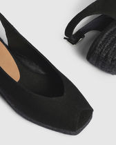 Castaner Open Toe Casual Style Plain Office Style