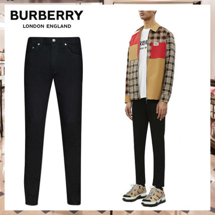 Burberry More Jeans Denim Street Style Plain Jeans