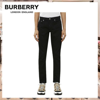 Burberry More Jeans Denim Street Style Plain Jeans 3