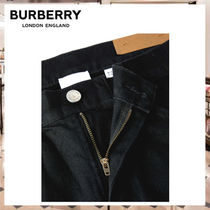 Burberry More Jeans Denim Street Style Plain Jeans 5