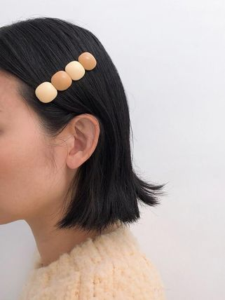 Barettes Casual Style Icy Color Clips