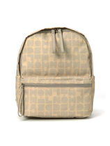 Mila Schon Other Plaid Patterns Casual Style Plain Logo Backpacks