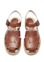Paraboot Rubber Sole Casual Style Plain Sandals