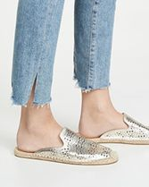 SOLUDOS Rubber Sole Casual Style Mules Flats