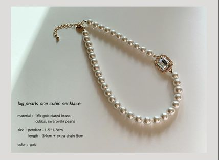 Casual Style Brass With Jewels Elegant Style
