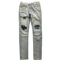 MNML More Jeans Printed Pants Unisex Denim Street Style Plain 19