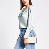 River Island Casual Style 2WAY Chain Plain Party Style With Jewels