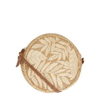 Accessorize Tropical Patterns Blended Fabrics With Jewels Crossbody
