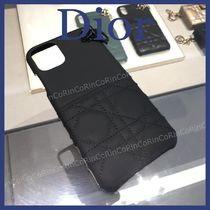 Christian Dior LADY DIOR Plain iPhone 11 Pro Max Smart Phone Cases