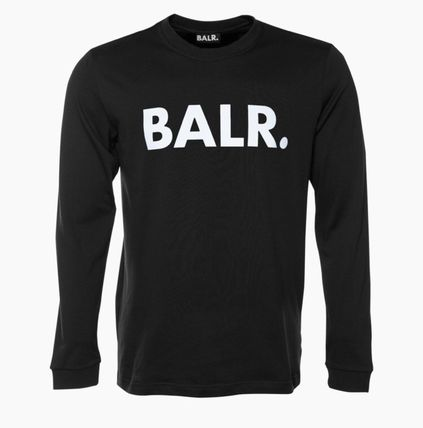 BALR Long Sleeve Crew Neck Street Style Long Sleeves Cotton 2
