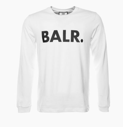 BALR Long Sleeve Crew Neck Street Style Long Sleeves Cotton 4