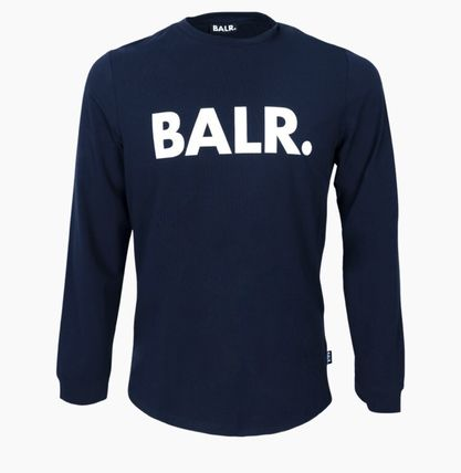 BALR Long Sleeve Crew Neck Street Style Long Sleeves Cotton 6