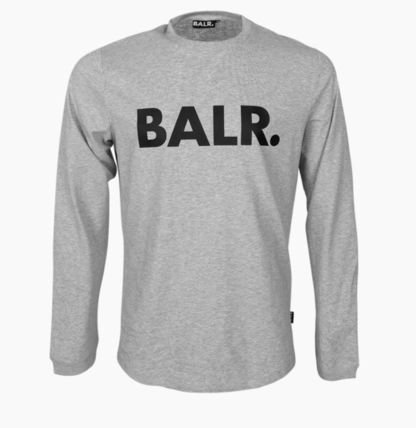 BALR Long Sleeve Crew Neck Street Style Long Sleeves Cotton 8