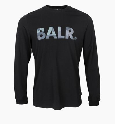 BALR Long Sleeve Crew Neck Street Style Long Sleeves Cotton 10