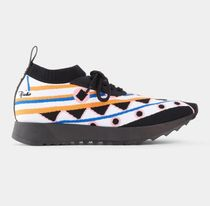 Emilio Pucci Lace-up Casual Style Tribal Elegant Style Formal Style  Logo