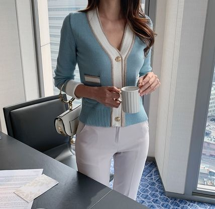 Icy Color Cardigans