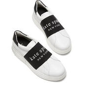 kate spade new york Leather Low-Top Sneakers