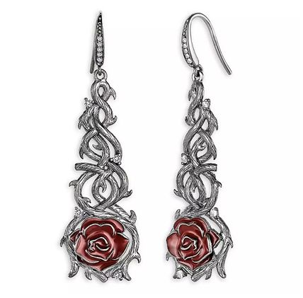 Casual Style Collaboration Silver Earrings